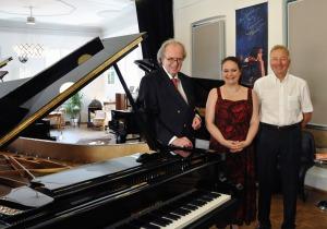 Prof. Dr. Helmut Reuter, Ana-Marija Markovina, Dr. Wolfgang Wagner