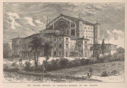 Das Bayreuther Bühnenfestspielhaus