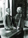 Siegfried Wagner mit seiner Mutter Cosima, Fotografie, 1911 © Nationalarchiv der Richard-Wagner-Stiftung, Bayreuth